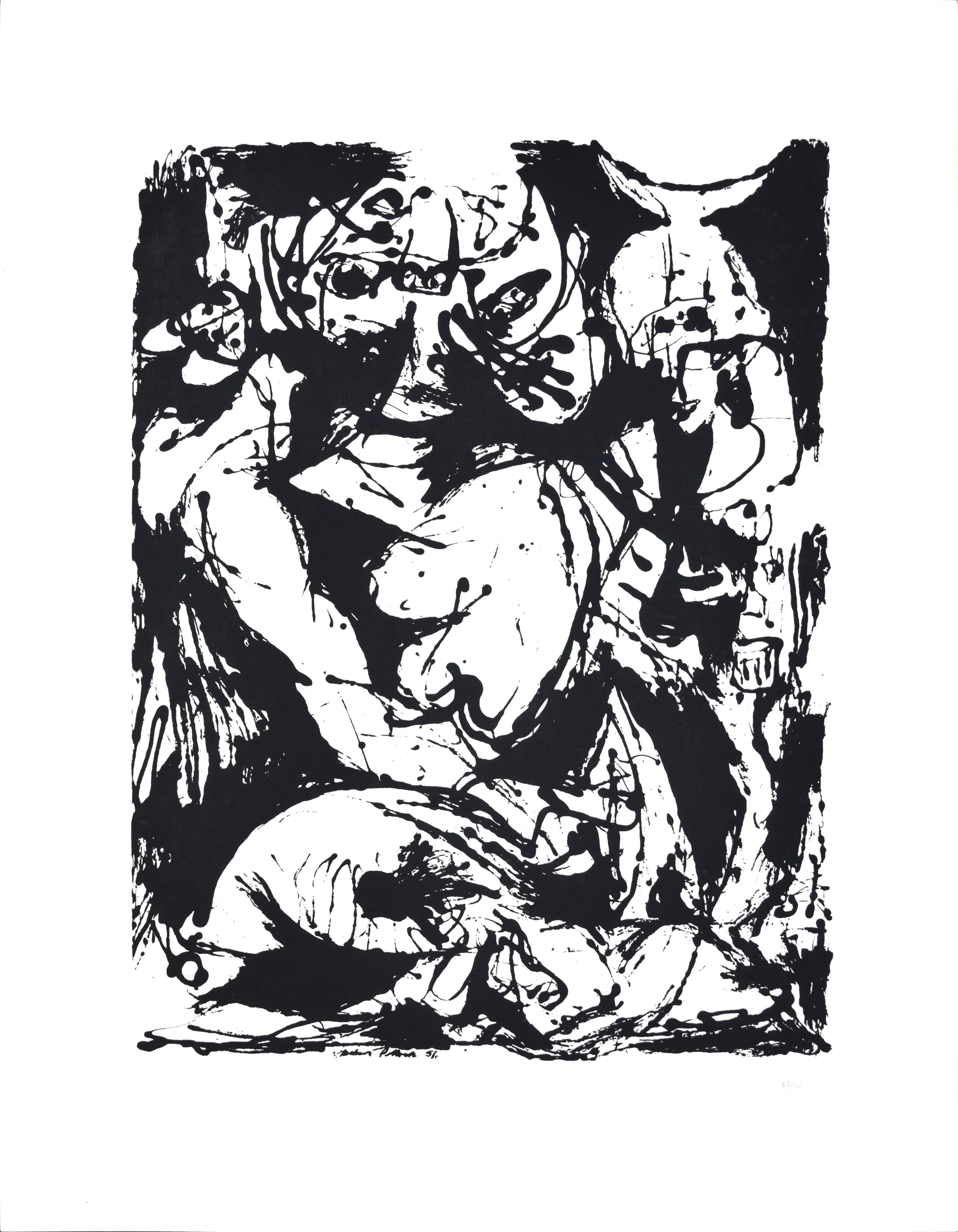 Untitled, CR1095 (after painting Number 22, CR344), 1951, printed 1964