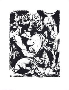 Untitled - Original Serigraph After Jackson Pollock - 1964