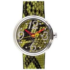 Jacob and Co. Valentin Yudashkin Green Python Automatic Watch