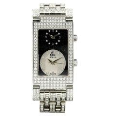Jacob & Co. Dual Time Angel Diamond Watch