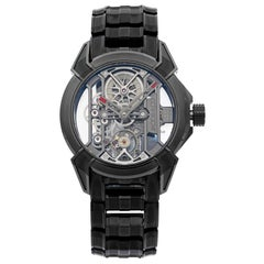 Jacob & Co. Epic X Black Titanium Hand-Wind Men's Watch EX100.20.PS.PP.A20AA