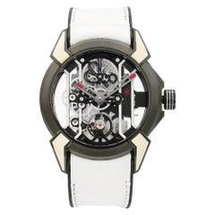 Jacob & Co. Epic X Racing TI Titanium Hand-Wind Men's Watch EX100.20.WR.OY.A