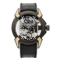 Jacob & Co. Epic X Racing TI Titanium Hand-Wind Men's Watch EX100.21.WR.PY.A