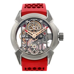 Jacob & Co. Epic X Red Titanium Hand-Wind Men's Watch EX100.20.NS.OX.A