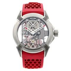 Jacob & Co. Epic X Red Titanium Skeleton Hand-Wind Men's Watch EX100.20.PS.PP.A