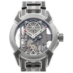 Jacob & Co. Epic X Skeleton Titanium Hand-Wind Men's Watch EX100.20.PS.PP.A20AA