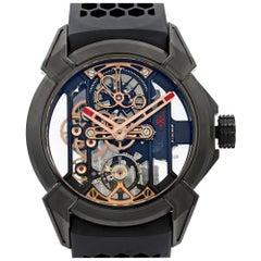 Jacob & Co. Epic X Skeleton Titanium Hand-Wind Men's Watch EX100.21.NS.PX.A