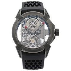 Jacob & Co. Epic X Skeleton Titanium Hand-Wind Men's Watch EX100.21.PS.BW.A