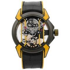 Jacob & Co. Epic X Skeleton Titanium Hand-Wind Men's Watch EX100.21.YR.PY.A