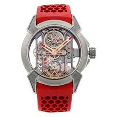 Jacob & Co. Epic X Titanium Skeleton Hand-Wind Men's Watch EX100.20.NS.OX.A