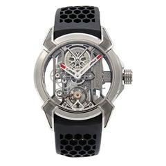 Jacob & Co. EPIC X Titanium Skeleton Hand-Wind Men's Watch EX100.20.PS.BW.A