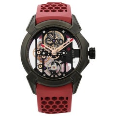 Jacob & Co. Epic X Titanium Skeleton Hand-Wind Men's Watch EX100.21.NS.PX.A