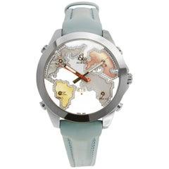 Jacob & Co. Five 5 Time Zone Diamond Watch A5130