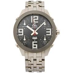 Jacob & Co. FTZ LTD Edition Titanium Black Dial Automatic Men's Watch JC-82