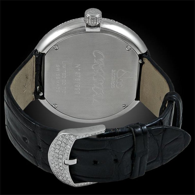 Jacob & Co. Limited Edition Diamond Watch In Good Condition For Sale In New York, NY