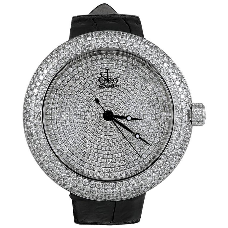Jacob & Co. Limited Edition Diamond Watch For Sale