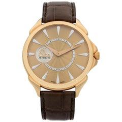 Jacob & Co. Palatial 18k Rose Gold Automatic Men's Watch 110.300.40.NS.NB.1NS