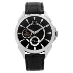 Jacob & Co. Palatial Big Date Steel Hand-Wind Men's Watch PC400.10.NS.NS.A