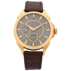 Jacob & Co. Palatial Classic Rose Gold Hand-Wind Men's Watch PC400.40.NS.NB.A