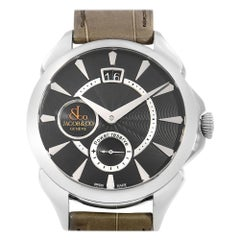 Jacob & Co. Palatial Classic Stainless Hand-Wind Men's Watch PC400.10.NS.NF.A