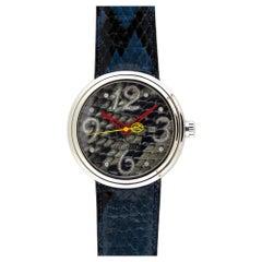 Jacob & Co Valentin Yudashkin Blue Python Automatic Watch