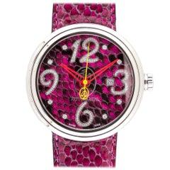 Jacob & Co Valentin Yudashkin Fuchsia Python Automatic Watch