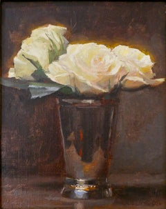 Roses in a Silver Cup II