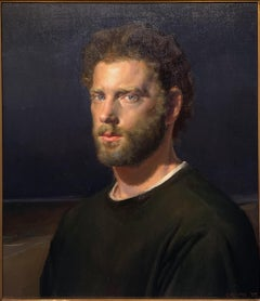 Self-Portrait with Beard