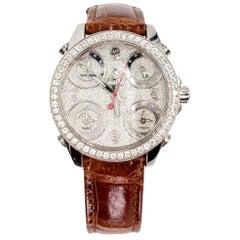 Jacob & Company 5 Time Zone Diamond Watch