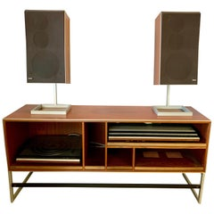 Jacob Jensen for Bang & Olufsen Home Audio System Cabinet with Components
