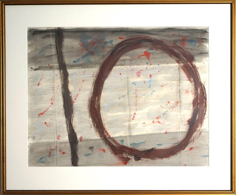 Jacob Kainen Abstract Painting - Untitled