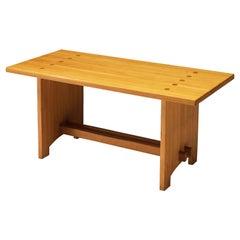 Jacob Kielland-Brandt Dining Table in Solid Pine