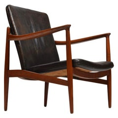 Jacob Kjaer, Adjustable Teak Lounge Chair, Denmark, 1945
