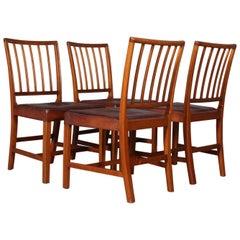 """Jacob Kjær, Four """"Pariser stolen"""" Chairs"""
