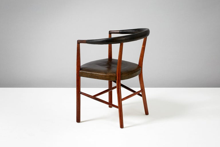 Scandinavian Modern Jacob Kjaer Model B-37 Rosewood Un Chair, 1949 For Sale