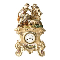Jacob Petit French Porcelain Clock