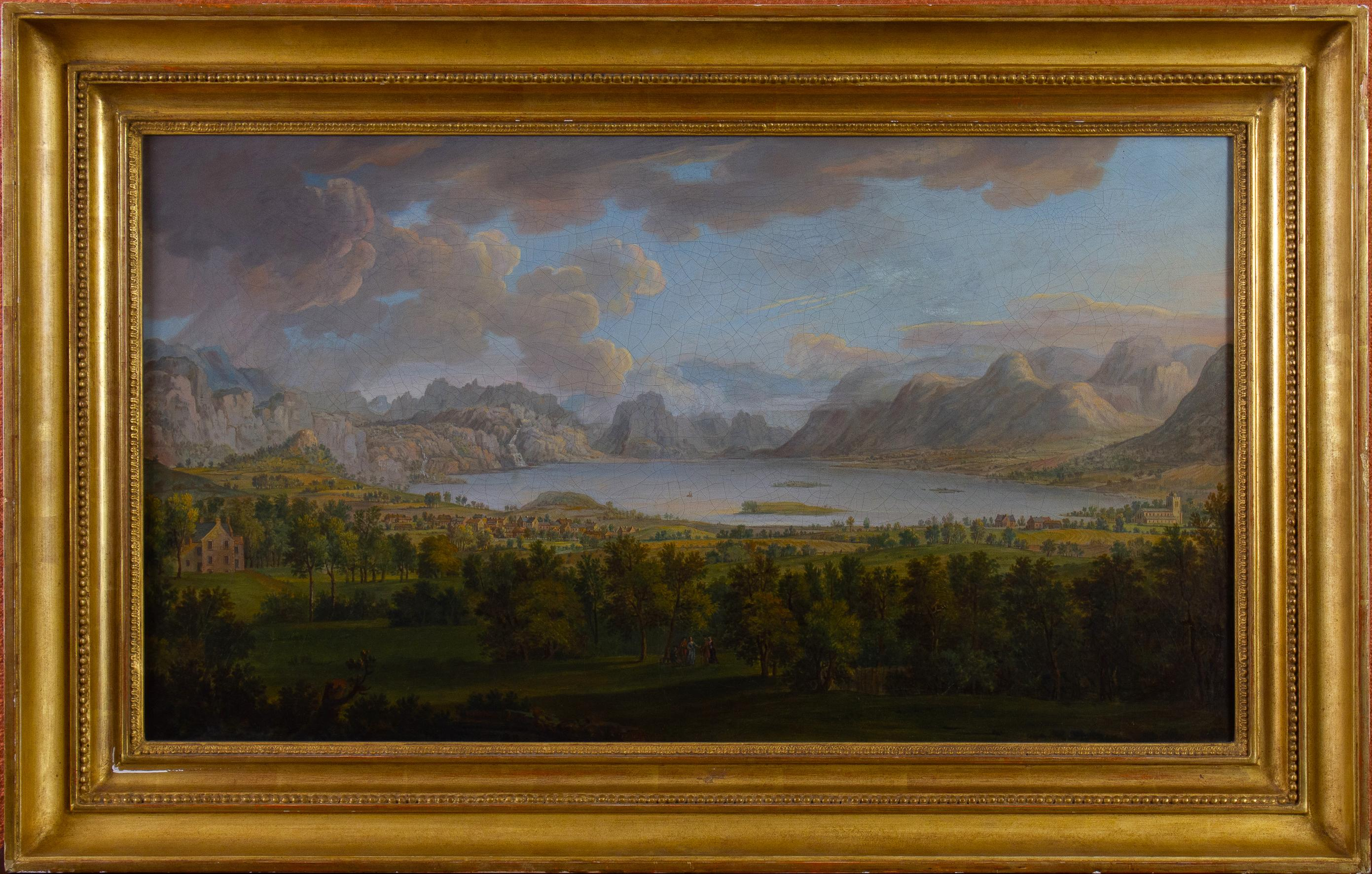 18th Century Northern European Landscape,  follower of Jacob Phillip Hackert
