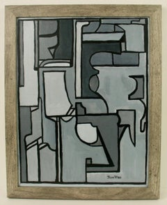 50  Shades of Gray Abstract by J.Wolf