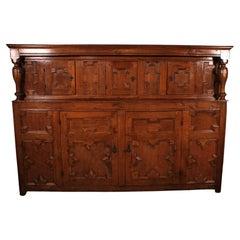 Jacobean Cupboard Early 17th Century in Oak