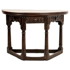Jacobean Folding Table