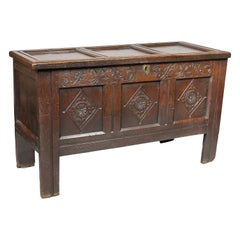 Jacobean Oak Coffer