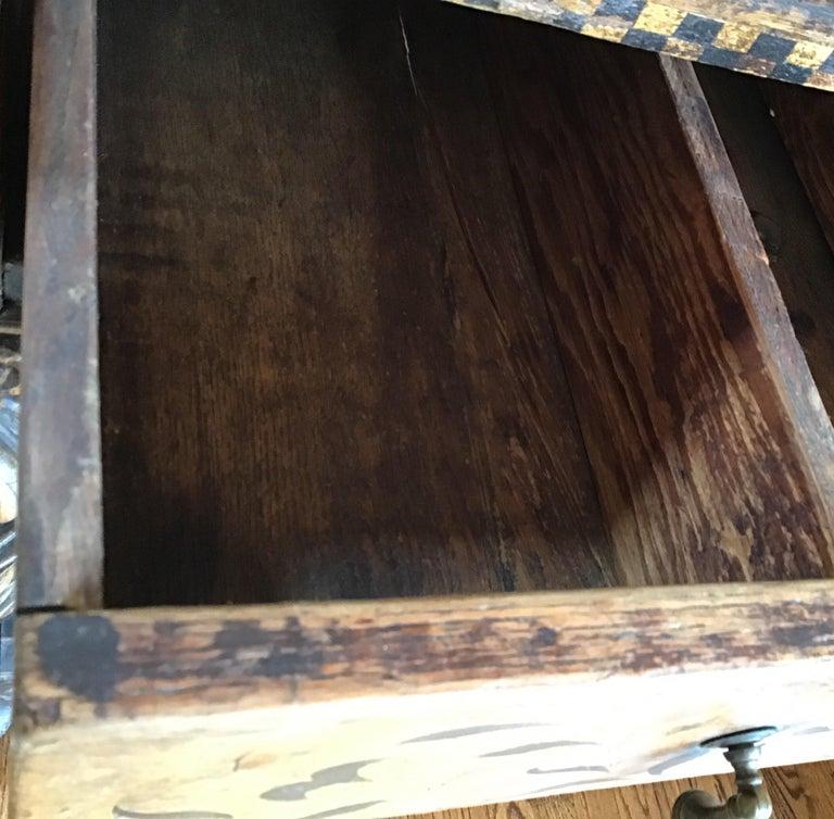 Jacobean Oak Court Cabinet Base For Sale 6