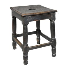 Jacobean Oak Stool