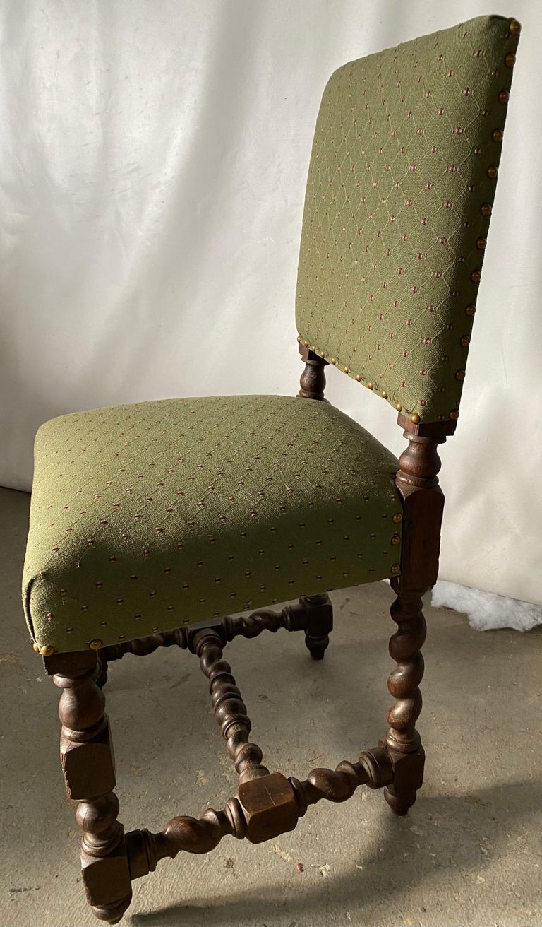 19th Century Jacobean Style Side Chair For Sale