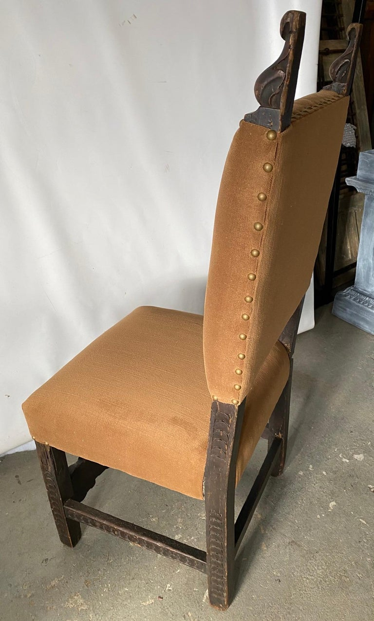 Jacobean Style Side Chair For Sale 1