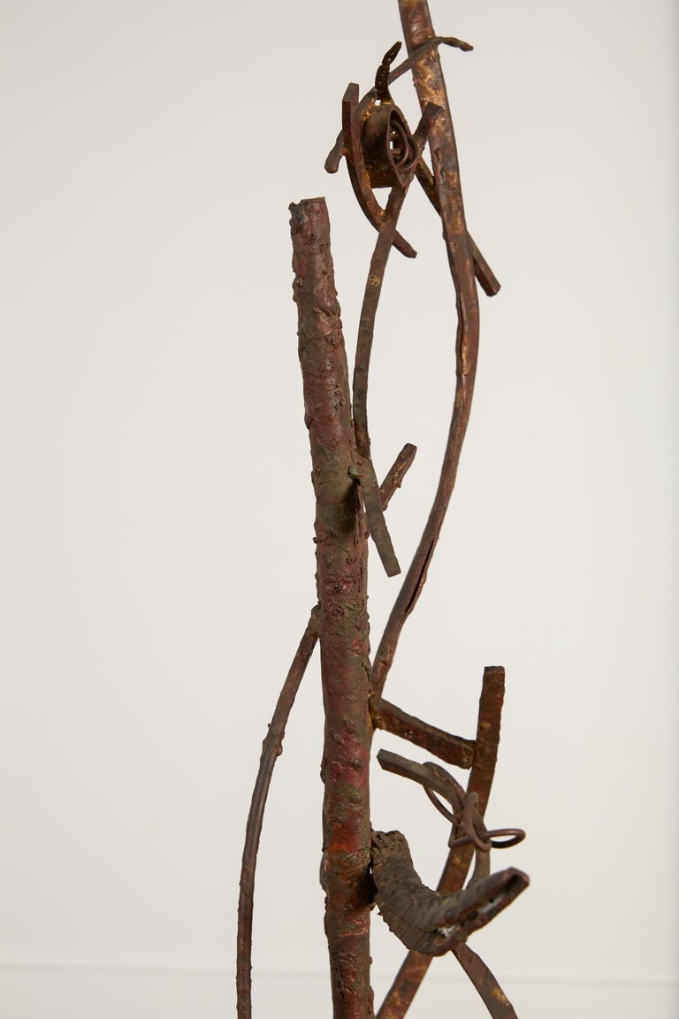 """""""Jacob's Ladder"""" Welded Metal Sculpture by Max Finkelstein For Sale 4"""