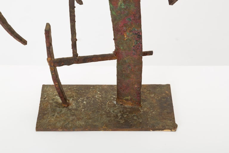 """""""Jacob's Ladder"""" Welded Metal Sculpture by Max Finkelstein For Sale 7"""