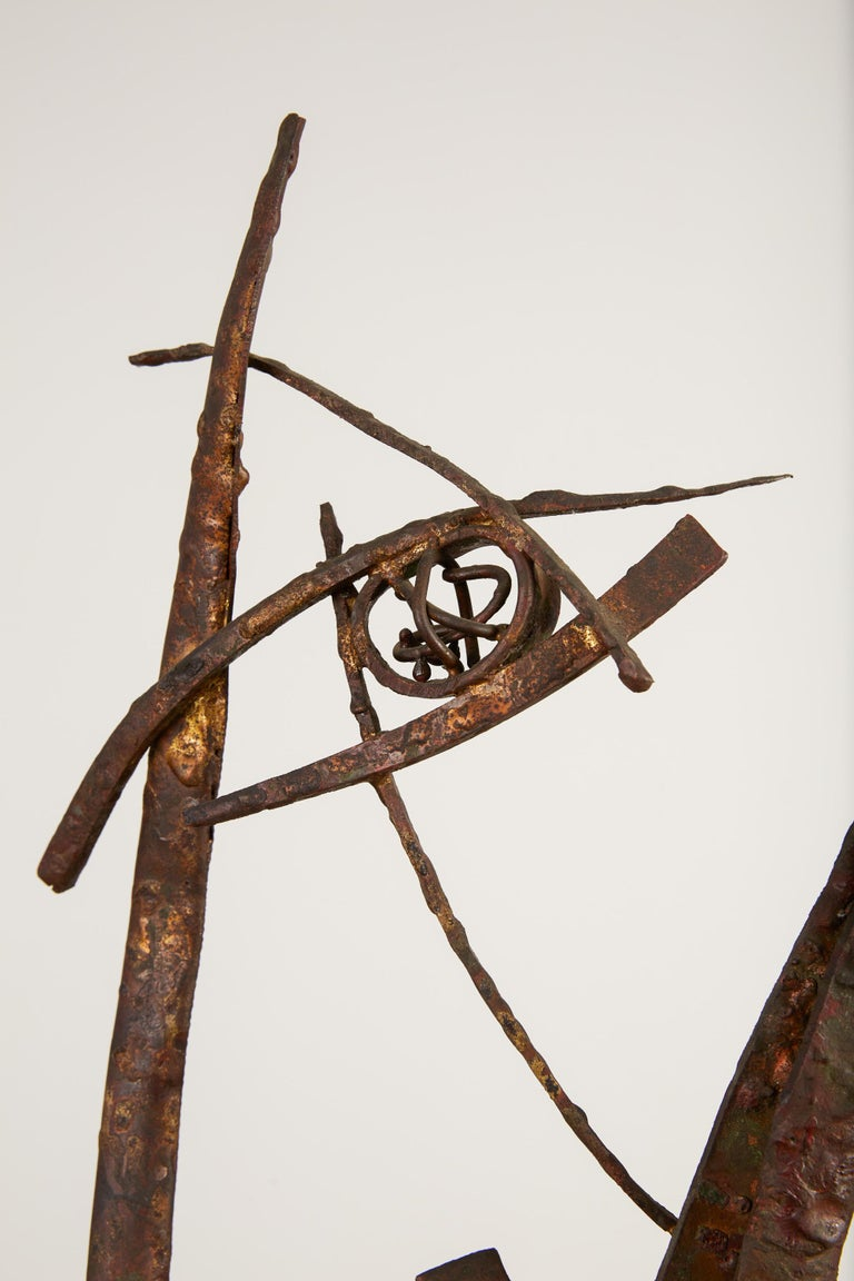 """""""Jacob's Ladder"""" Welded Metal Sculpture by Max Finkelstein For Sale 2"""