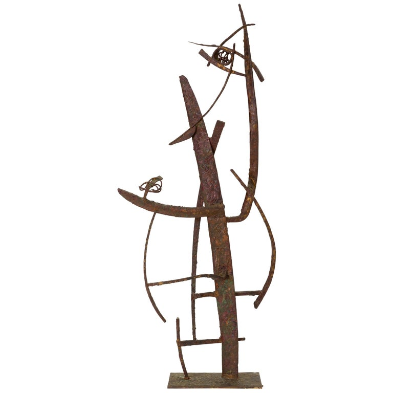 """""""Jacob's Ladder"""" Welded Metal Sculpture by Max Finkelstein For Sale"""