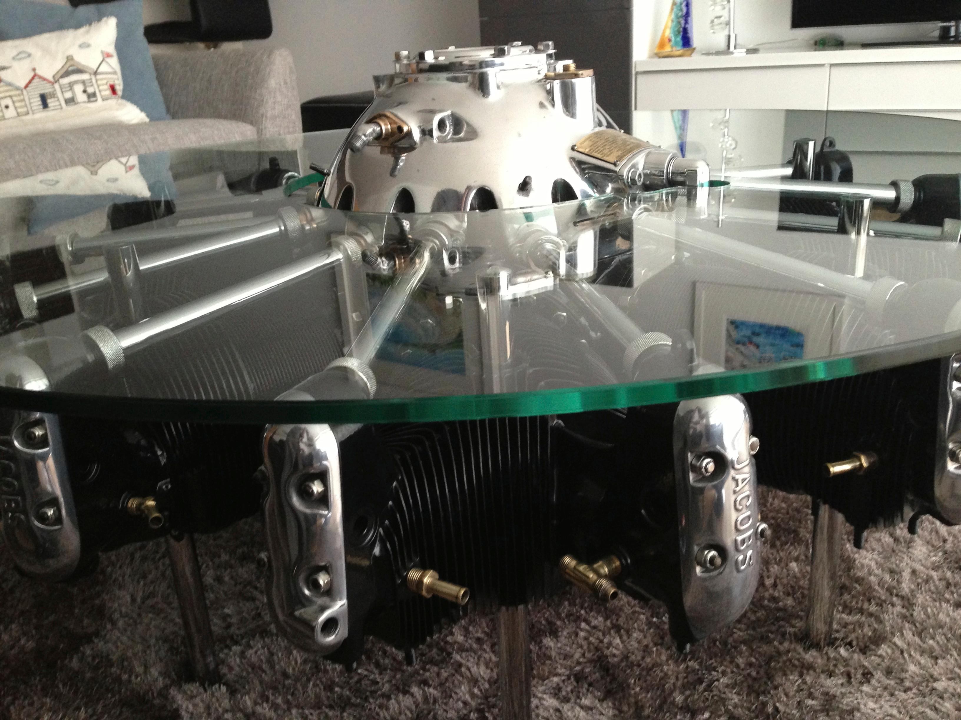 Jacobs Radial Aircraft Engine Table